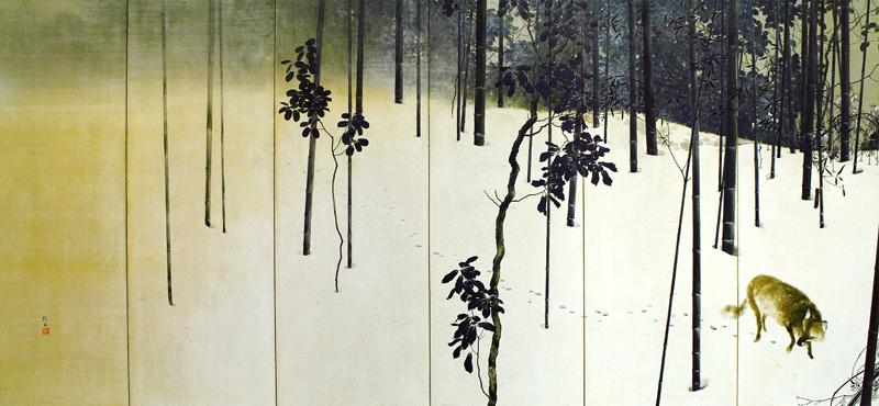 寒月(左)