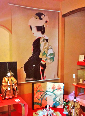 上村松園の描く女性とお雛様
