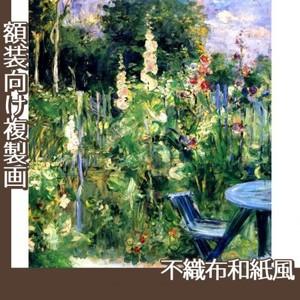 モリゾ「立葵」【複製画:不織布和紙風】