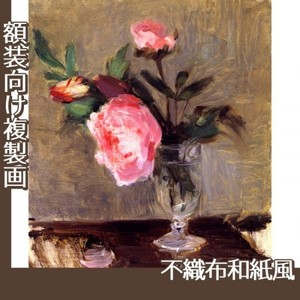 モリゾ「牡丹」【複製画:不織布和紙風】