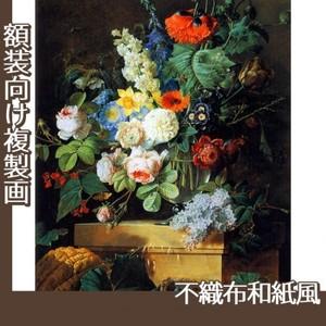 ルドゥーテ「ガラスの花瓶の花」【複製画:不織布和紙風】