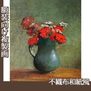 ルドン「花びんと花」【複製画:不織布和紙風】