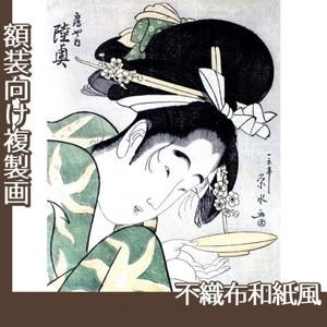 一楽亭栄水「鶴や内陸奥」【複製画:不織布和紙風】