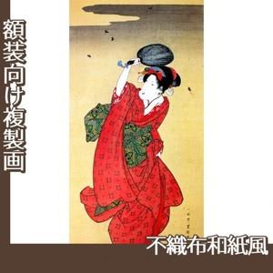 歌川豊国「蛍狩美人図」【複製画:不織布和紙風】