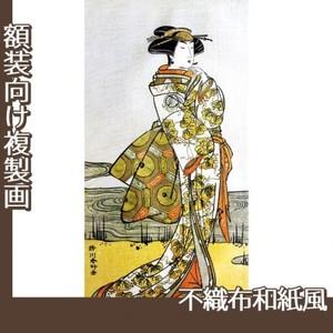 勝川春好「三代目瀬川菊之丞」【複製画:不織布和紙風】