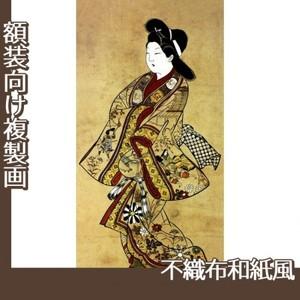 杉村治兵衛「立美人図」【複製画:不織布和紙風】