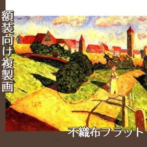 カンディンスキー「古い都市2」【複製画:不織布フラット100g】