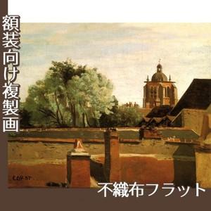 コロー「オルレアンのサン-パテルヌ教会鐘楼」【複製画:不織布フラット100g】