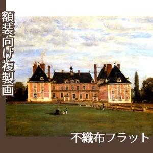 コロー「ロニーのベリー公爵夫人の城」【複製画:不織布フラット100g】