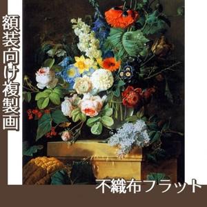 ルドゥーテ「ガラスの花瓶の花」【複製画:不織布フラット100g】