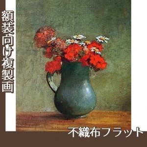 ルドン「花びんと花」【複製画:不織布フラット100g】