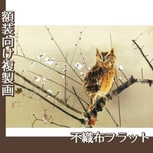 西村五雲「寒梅」【複製画:不織布フラット100g】