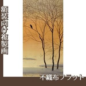 菱田春草「暮色」【複製画:不織布フラット100g】