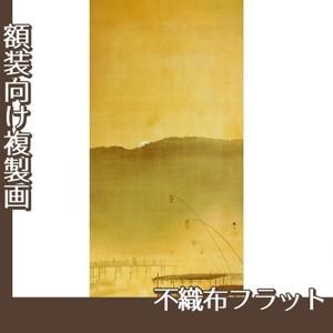 下村観山「納涼」【複製画:不織布フラット100g】