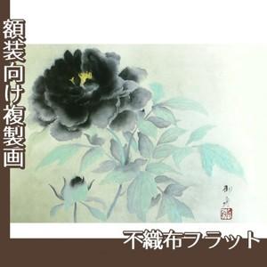 速水御舟「墨牡丹」【複製画:不織布フラット100g】