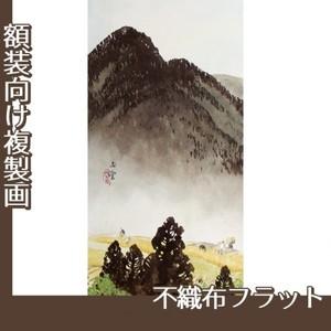 川合玉堂「遠雷麦秋1」【複製画:不織布フラット100g】