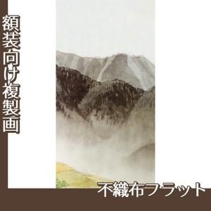川合玉堂「遠雷麦秋2」【複製画:不織布フラット100g】