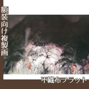 冨田溪仙「祇園夜桜」【複製画:不織布フラット100g】