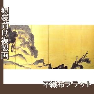 横山大観「江上舟遊(左隻)」【複製画:不織布フラット100g】