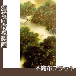 横山大観「訪友」【複製画:不織布フラット100g】