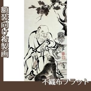 伊藤若冲「十六羅漢図(六幅) 二」【複製画:不織布フラット100g】