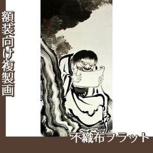 伊藤若冲「十六羅漢図(六幅) 四」【複製画:不織布フラット100g】