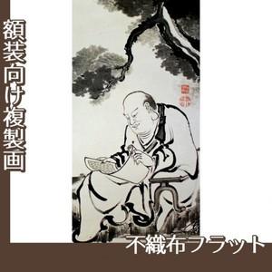 伊藤若冲「十六羅漢図(六幅) 六」【複製画:不織布フラット100g】