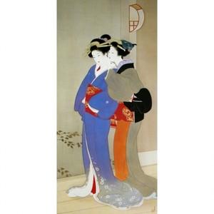 上村松園「春宵2」【窓飾り】