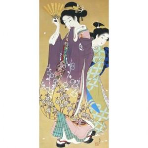 上村松園「桜可里図」【額装向け複製画】