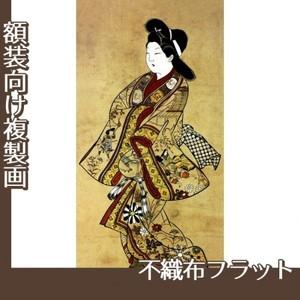 杉村治兵衛「立美人図」【複製画:不織布フラット100g】