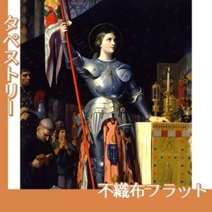 アングル「シャルル7世の戴冠式のジャンヌ・ダルク」【タペストリー:不織布フラット100g】