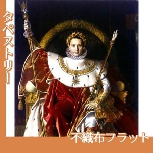 アングル「皇帝の座につくナポレオン1世」【タペストリー:不織布フラット100g】
