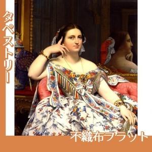 アングル「イネス・モワテシエ夫人(坐像)」【タペストリー:不織布フラット100g】