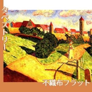 カンディンスキー「古い都市2」【タペストリー:不織布フラット100g】