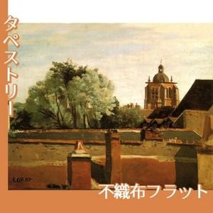 コロー「オルレアンのサン-パテルヌ教会鐘楼」【タペストリー:不織布フラット100g】