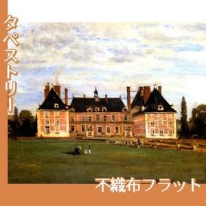 コロー「ロニーのベリー公爵夫人の城」【タペストリー:不織布フラット100g】
