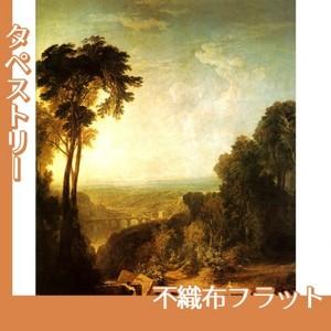 ターナー「小川を渡る」【タペストリー:不織布フラット100g】
