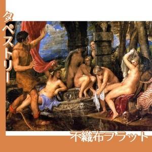 ティツアーノ「ディアナとアクタイオン」【タペストリー:不織布フラット100g】