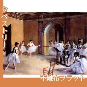 ドガ「ル・ぺルチエ街のオペラ座の舞台稽古場」【タペストリー:不織布フラット100g】