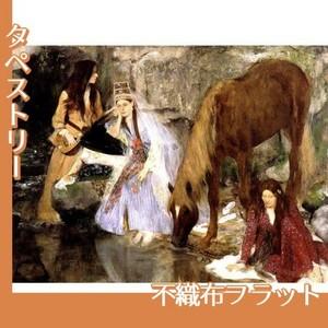 ドガ「バレエ「泉」のフィオルク嬢」【タペストリー:不織布フラット100g】