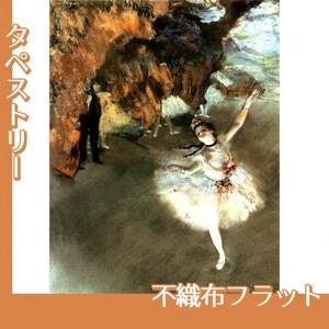 ドガ「花形(エトワール)」【タペストリー:不織布フラット100g】