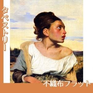 ドラクロワ「墓場の孤児」【タペストリー:不織布フラット100g】