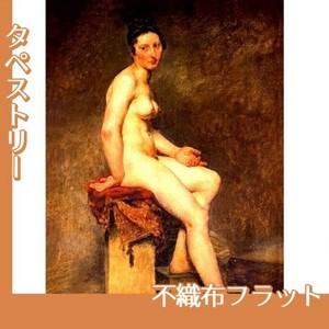 ドラクロワ「坐る裸婦・ローズ嬢」【タペストリー:不織布フラット100g】