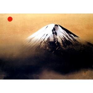 横山大観「神国日本」【ハンカチ・コースター・複製画】