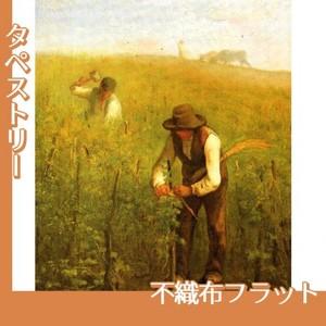 ミレー「葡萄畑で」【タペストリー:不織布フラット100g】