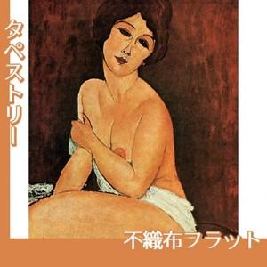モディリアニ「安楽椅子の上の裸婦」【タペストリー:不織布フラット100g】