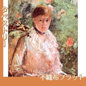 モリゾ「窓辺の若い女性」【タペストリー:不織布フラット100g】