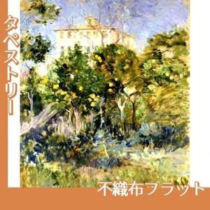 モリゾ「オレンジのなかのヴィラ、ニース」【タペストリー:不織布フラット100g】