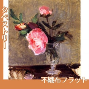 モリゾ「牡丹」【タペストリー:不織布フラット100g】