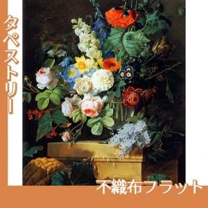 ルドゥーテ「ガラスの花瓶の花」【タペストリー:不織布フラット100g】
